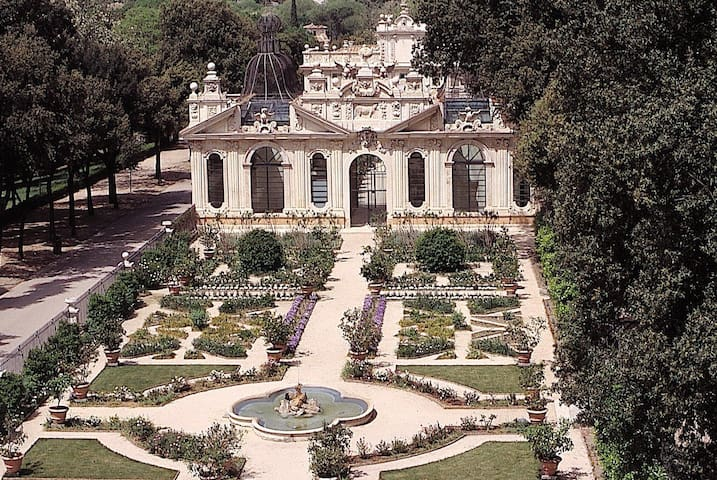 200m walking to Borghese galeria-second only to Vatican museum for precious paintings and statues