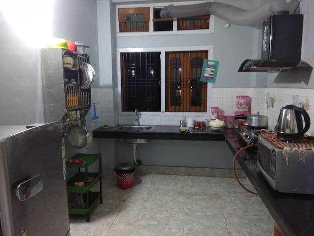 The Kitchen..!! Use it to prepare your very own delicious food.