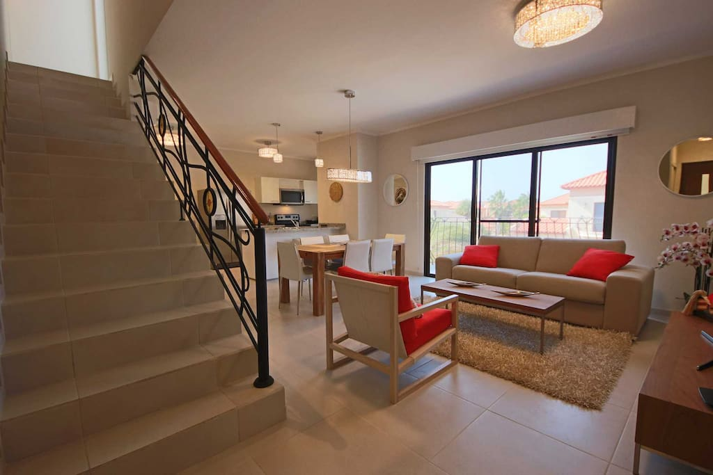 The stairs to your perfect vacation rental condo