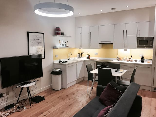 Sofa Bed + Bath in Chic/Clean Flat in Central - London - House