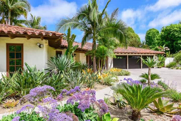 Rancho Santa Fe Pool & Tennis Estate - New Listing