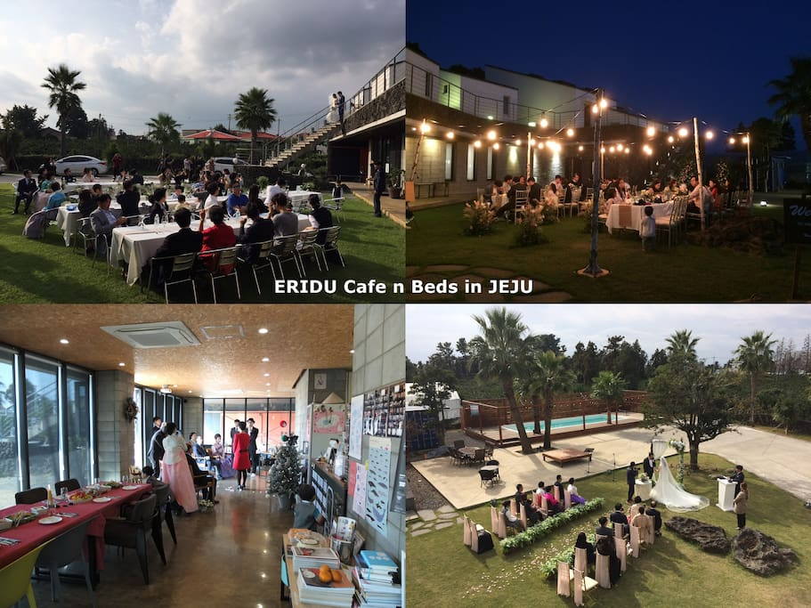 Private event such as wedding on our property (ask us more if you wish)