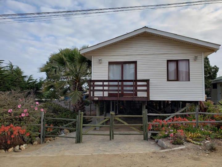 Acojedora casa en la playa para 7 personas