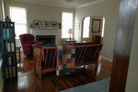 Spacious Room in Historic Downtown Cottage - Gainesville
