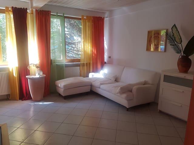 Privatzimmer mit Bad und Mini-Küche in Munzingen