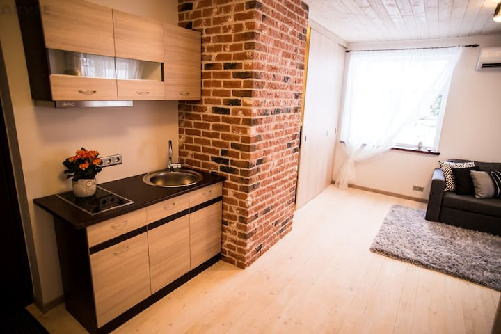 Modern studio 5 min walk from downtown - Tartu - Apartemen