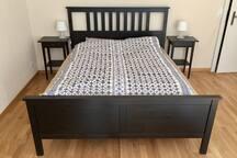 Your queen bed