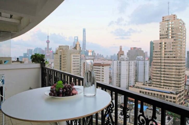 Nice private room in central SH - Shanghai - Apartment