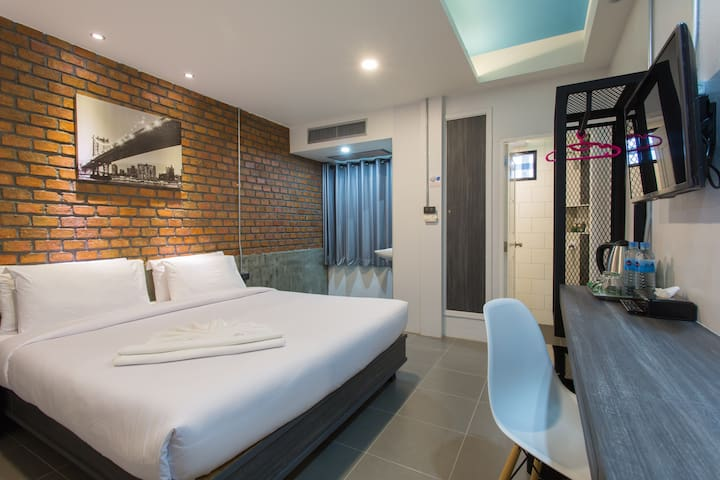 City Hotel, Superior New Style Room - Krabi - Hotel butikowy