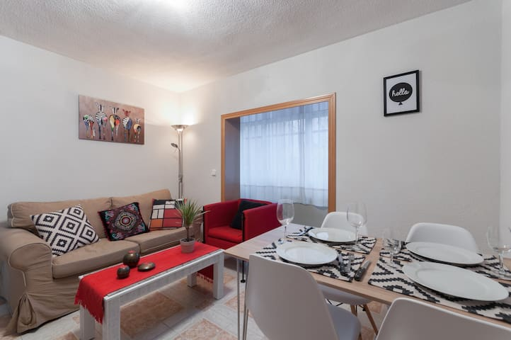 Comfortable, cozy and well conneted apartment - Madrid - Lägenhet