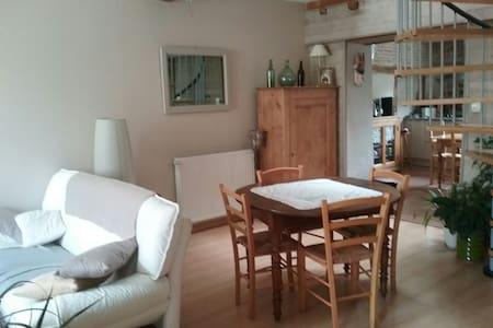 Chambre privée dans maison village - Chalamont - Dům