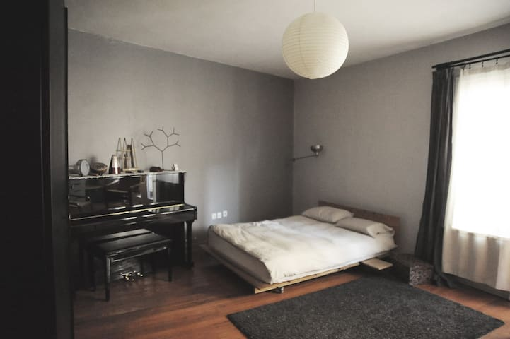 Large room in a cosy family flat, 4min to Taksim.
