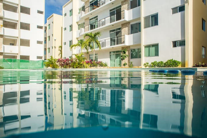 NEW 2BR Apartment w/ Pool+Rooftop Playa del Carmen - Playa del Carmen - Apartment