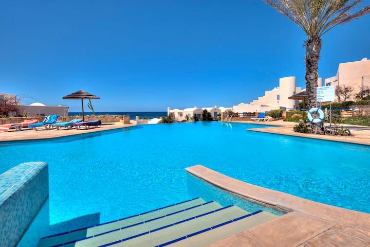 Luxury sea view Beach Villa on Paphos coast