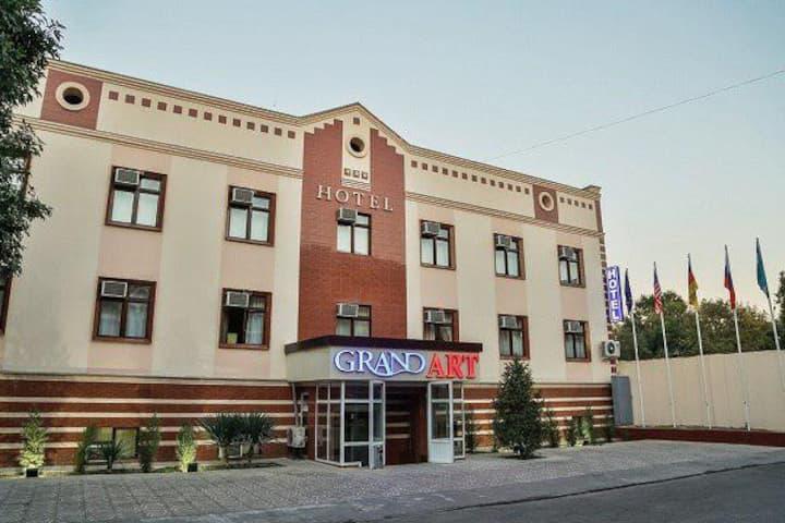 Twin room in Grand ART Hotel Tashkent