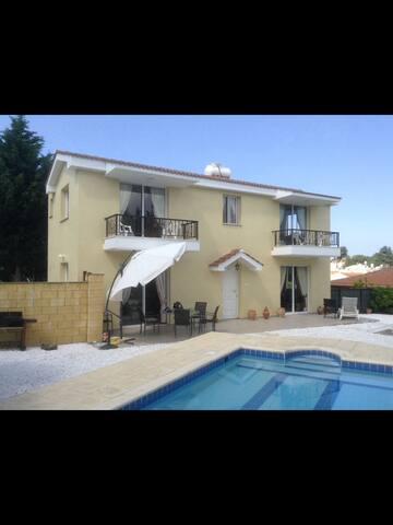 Tsada, Paphos -Very Large 3 Bedroomed Villa & Pool