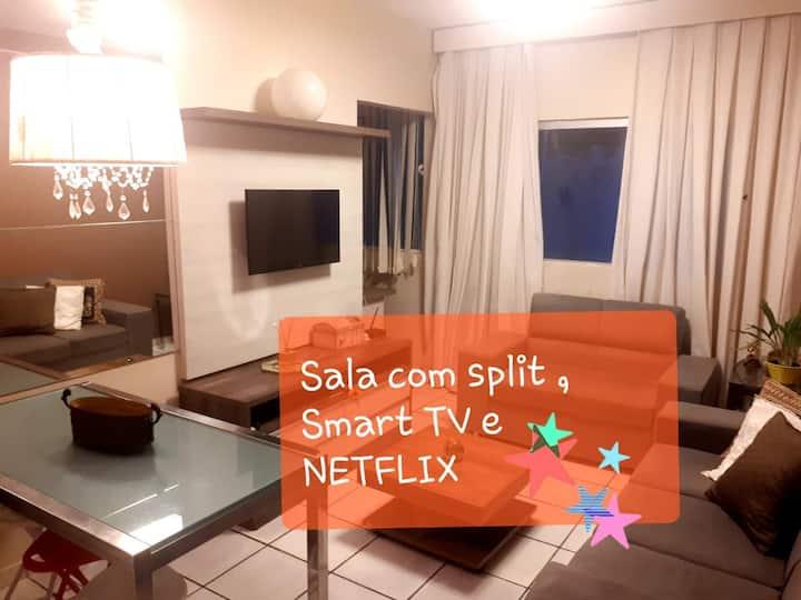 Apartamento mobiliado Luxo
