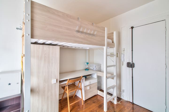 Single Stay In This Studio Neart  Heart Of Paris !