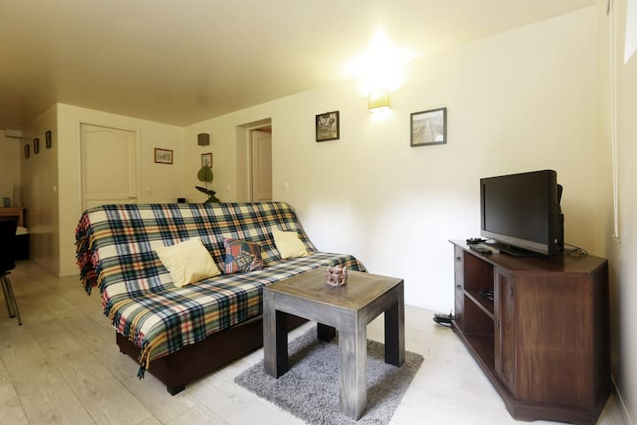 Cosy basement flat near Disneyland - Coupvray
