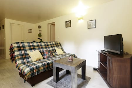 Cosy basement flat near Disneyland - Coupvray - Apartemen