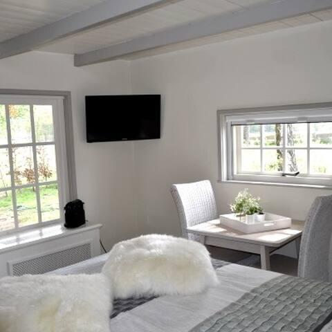 Huisje Bloemers beschikt over digitale smart tv, wifi, nespresso etc.
