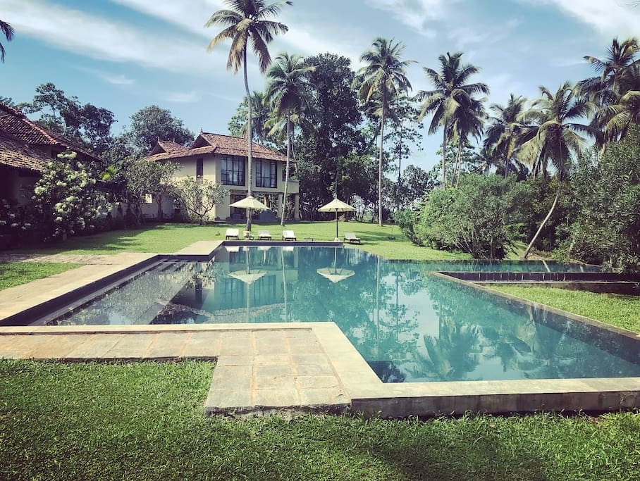 One of the largest private pools in Sri Lanka
