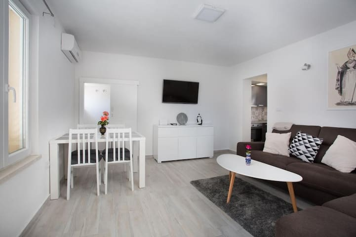 Serious Job Apartment - One Bedroom Apartment with Patio