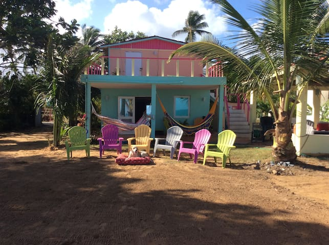 BeachHouse Mar y Miel gazebo privte - Luquillo - บ้าน