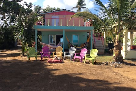 Beach House with Gazebo BBQ Private - Luquillo