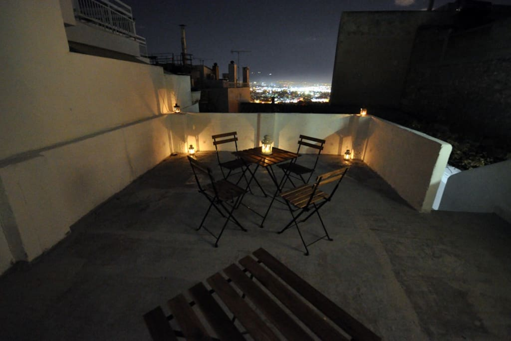 Santorini Maisonette @ Piraeus - 1st floor terrace