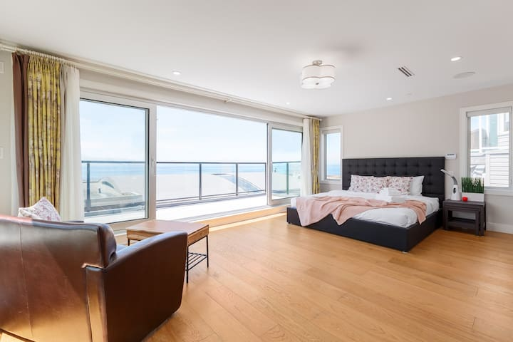 private room with pier view