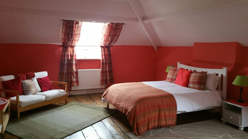 Country House  Attic Room, large and cosy.
