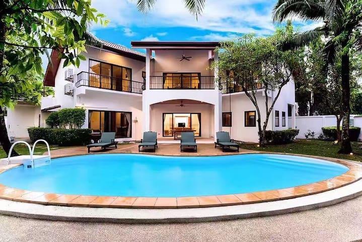 椰棕榈度假别墅(Coconut Palm Villa Rawai)