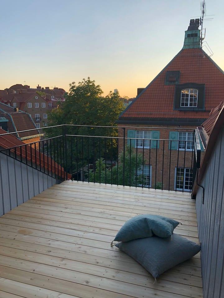 In Lärkstan with a view