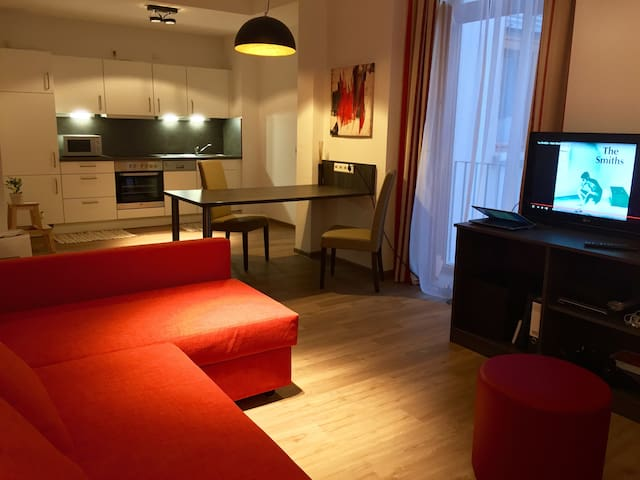 Stylish, confortable apartment in the heart of FFM - Frankfurt am Main - Lägenhet