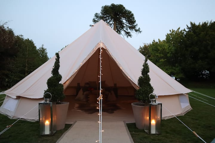 Trematon Hall Luxury Glamping in style