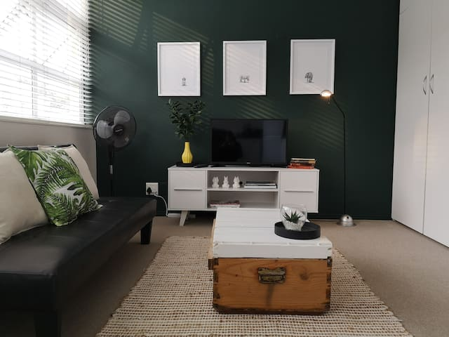 Newly renovated, central, secure Sea Point studio.