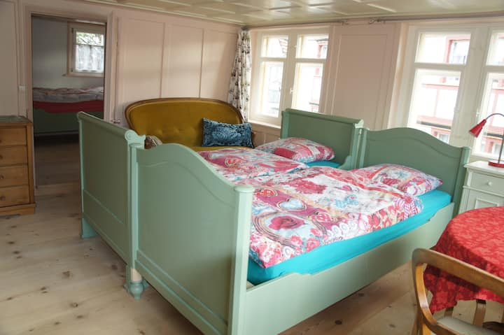Two rooms in the Heart of Appenzell