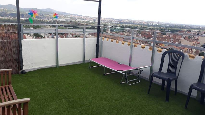 vivienda independiente con grandes vistas