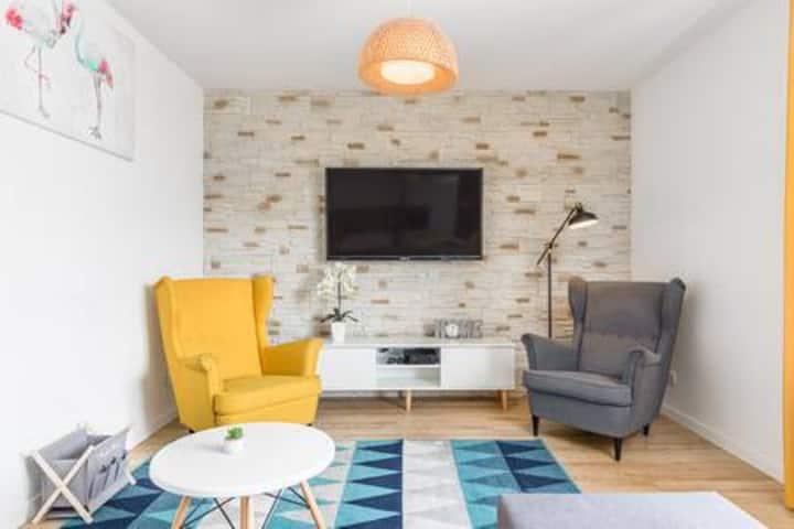 Przytulny Appartamet w centrum Szczecina 67 m2