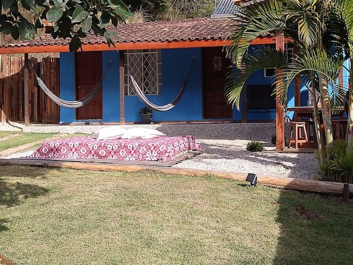 Casinha Azul,lugar de paz e felicidade ..