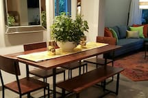 Perfect for family meals. Dining open to kitchen and living rooms
