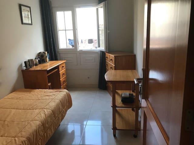 Dormitorio 1 persona
