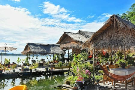 Sweet home floating house