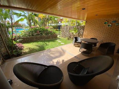 Utrustad lägenhet i Loma Real Pampatar