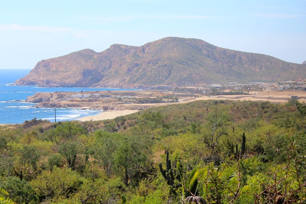 Stunning view of the Sea of Cortez and Chileno Bay