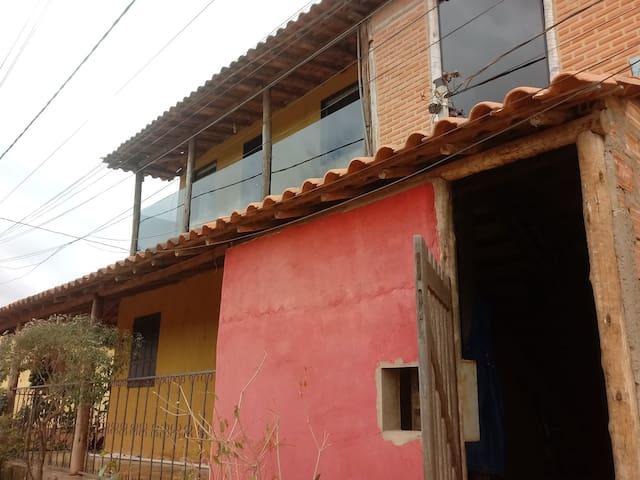 Quarto Casal casa próximo a cachoeira do Lageado