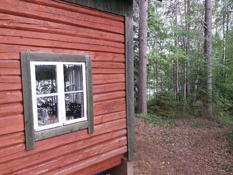 Tømmerhytte Hietanen