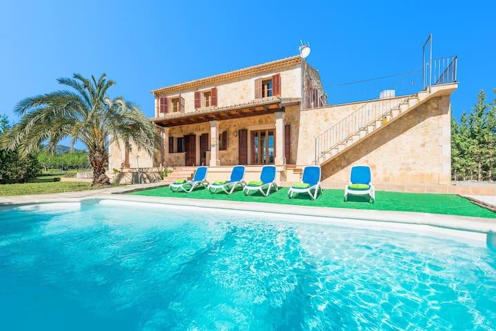 BONA VIDA - Villa with private pool in SELVA.