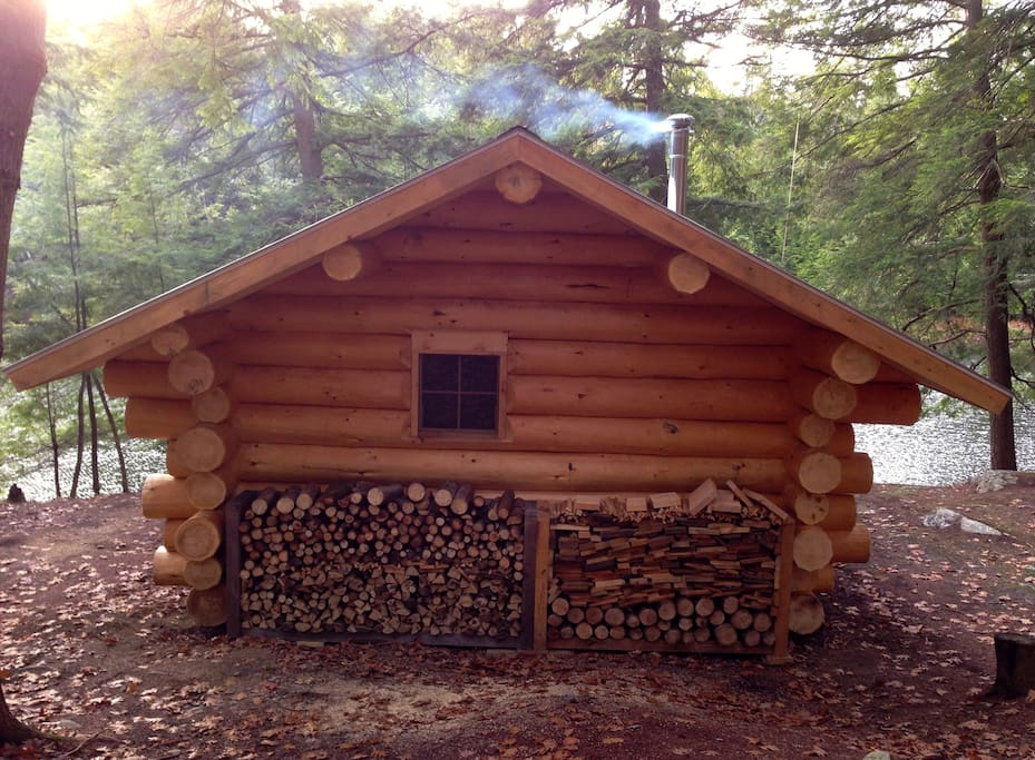 Vermont Log Cabin 3 Ponds 175 Acres Cabins For Rent In